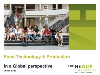 Food Technology & Production