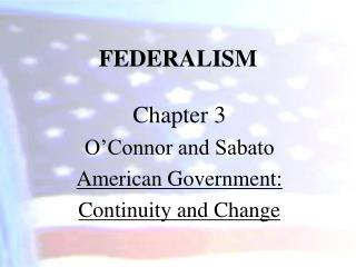 evolution of federalism