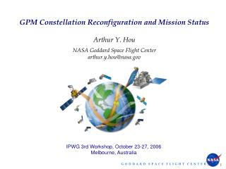 GPM Constellation Reconfiguration and Mission Status