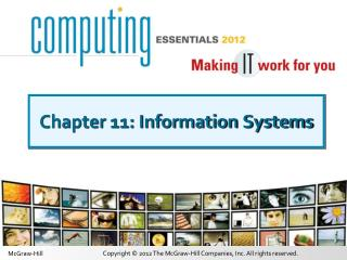 Chapter 11: Information Systems