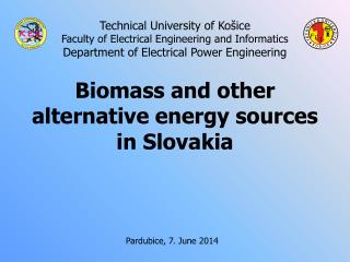 Technical University of Košice Faculty of Electrical Engineering and Informatics