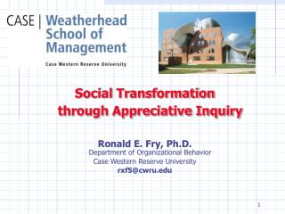 Social Transformation through Appreciative Inquiry