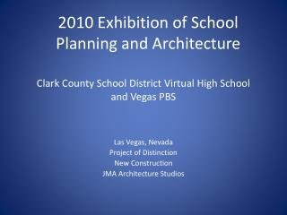 Clark County School District Virtual High School  and Vegas PBS