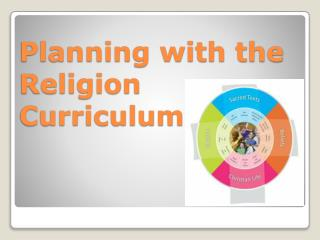 Planning with the Religion Curriculum