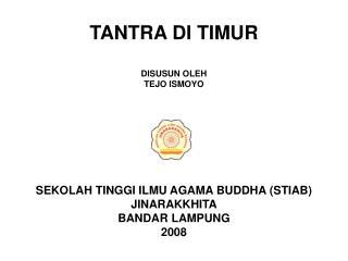 TANTRA DI TIMUR