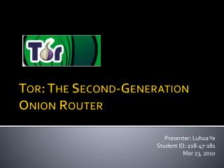Tor: The Second-Generation Onion Router
