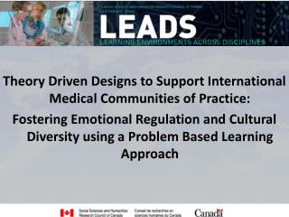 Theory Driven Designs to Support International Medical Communities of Practice: