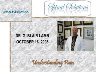 SPINAL SOLUTIONS.CA