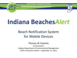 Indiana Beaches Alert