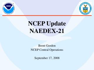 NCEP Update NAEDEX-21