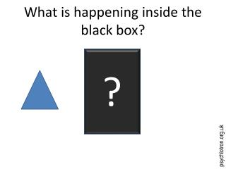 What is happening inside the black box?