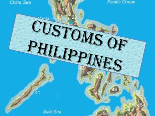 CUSTOMS OF PHILIPPINES