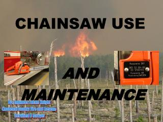 CHAINSAW USE
