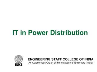 IT in Power Distribution