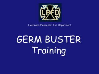 GERM BUSTER Training