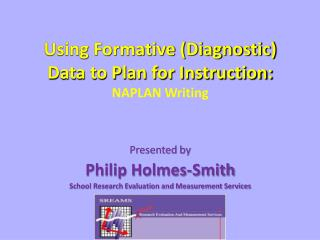 Using Formative (Diagnostic) Data to Plan for Instruction: NAPLAN Writing