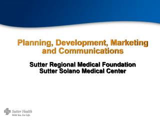 Sutter Solano Medical Center
