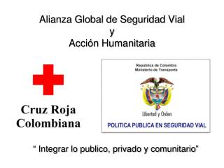 Alianza Global de Seguridad Vial  y  Acción Humanitaria