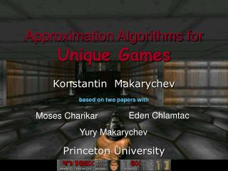Approximation Algorithms for Unique Games