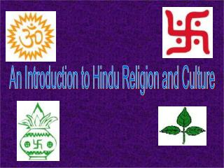 An Introduction to Hindu Religion and Culture