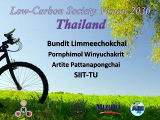 Low-Carbon Society Vision 2030  Thailand
