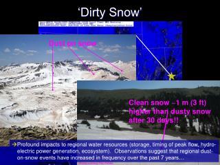 'Dirty Snow'