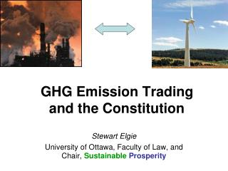 GHG Emission Trading  and the Constitution