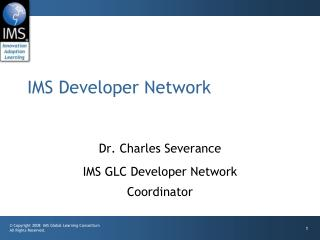 IMS Developer Network