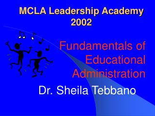 MCLA Leadership Academy 2002