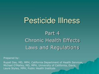 Pesticide Illness