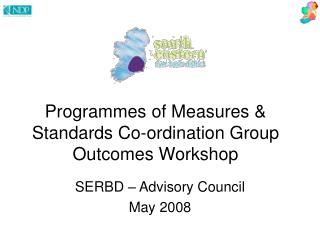 Programmes of Measures & Standards Co-ordination Group Outcomes Workshop