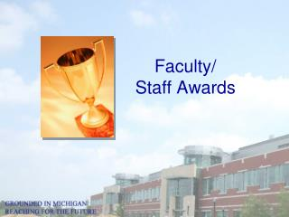 Faculty/  Staff Awards