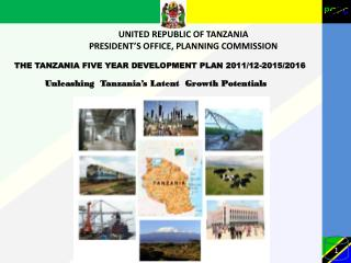 UNITED REPUBLIC OF TANZANIA PRESIDENT'S OFFICE, PLANNING COMMISSION