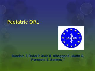 Pediatric  ORL