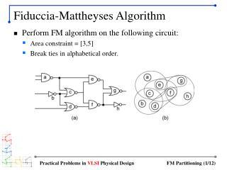 Fiduccia-Mattheyses Algorithm