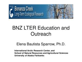 BNZ LTER Education and Outreach