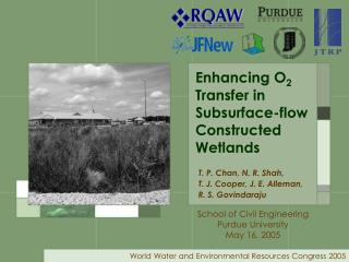 Enhancing O 2  Transfer in Subsurface-flow Constructed Wetlands