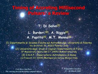 Timing of Accreting Millisecond Pulsars: a Review