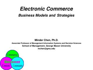 Electronic Commerce  Business Models and Strategies
