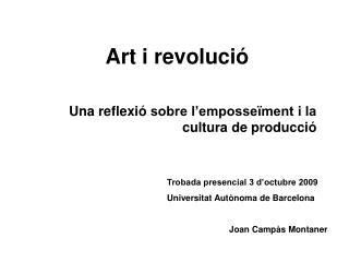 Art i  revolució