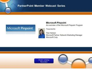 An Overview of Microsoft Pinpoint