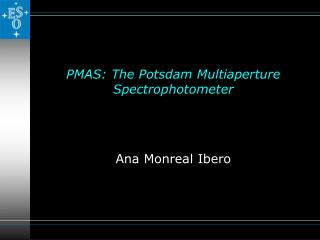 PMAS:  The Potsdam Multiaperture Spectrophotometer