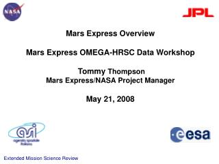 Mars Express/ NASA Project