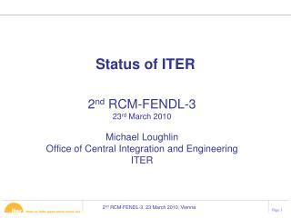 Status of ITER