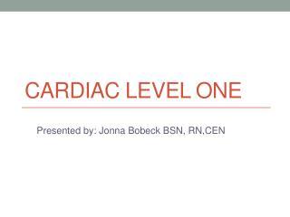 Cardiac Level One