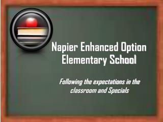 Napier Enhanced Option Elementary School
