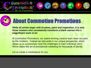 About Commotion Promotions