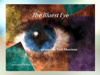 the bluest eye essays Bluest eye study guide contains a biography of toni morrison, literature essays, quiz questions, major themes, characters, and a full summary and analysis.