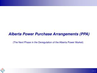 Alberta Power Purchase Arrangements (PPA)