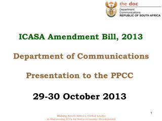 Suggested amendments